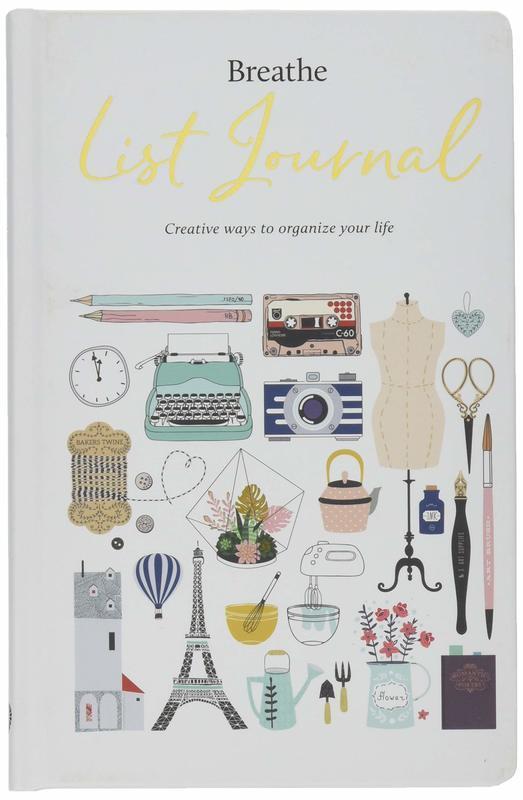 "Купить книгу ""Breathe List Journal"""