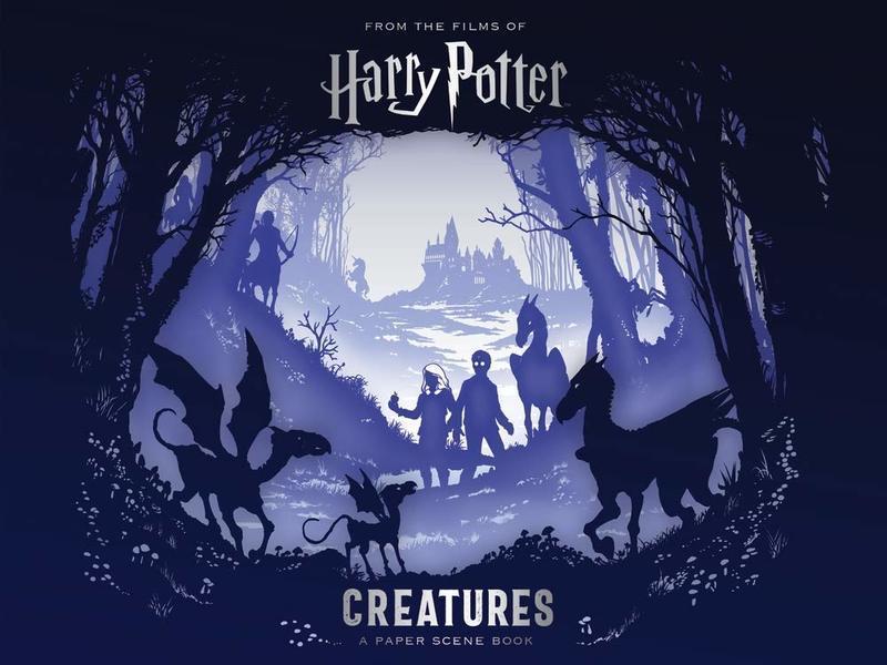 "Купить книгу ""Harry Potter — Creatures: A Paper Scene Book"""