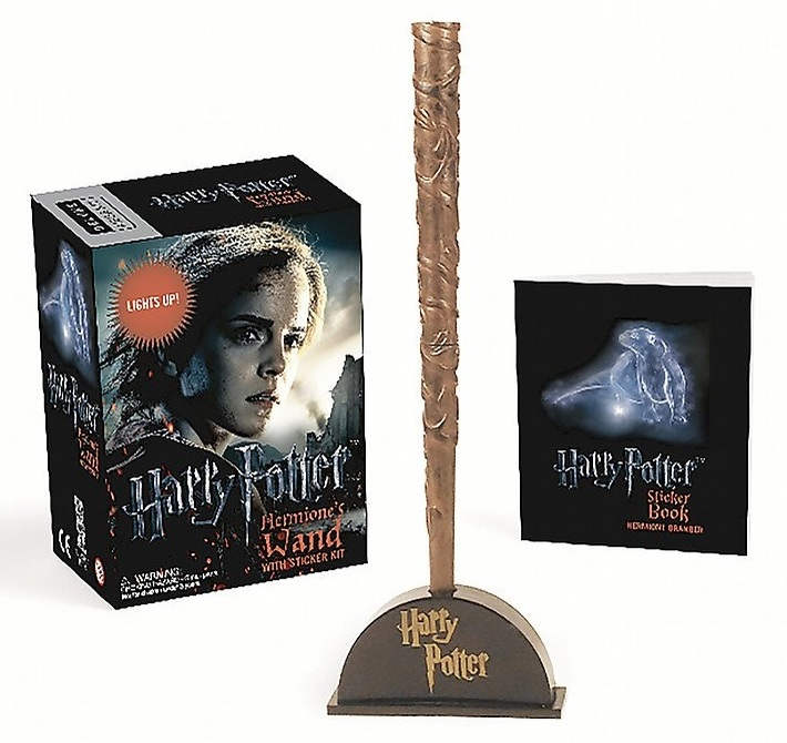 "Купить книгу ""Harry Potter Hermione's Wand with Sticker Kit: Lights Up!"""