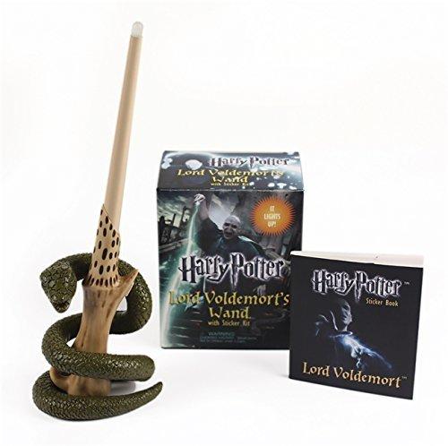 """Купить книгу """"Harry Potter Voldemort's Wand with Sticker Kit: Lights Up!"""""""