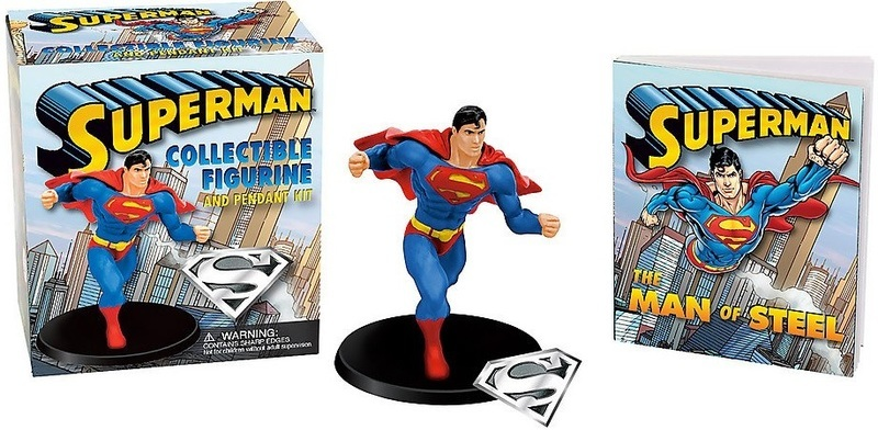 """Купить книгу """"Superman: Collectible Figurine and Pendant Kit"""""""