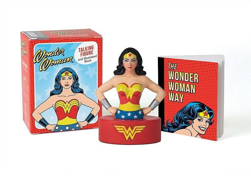 "Купить книгу ""Wonder Woman Talking Figure and Illustrated Book"""