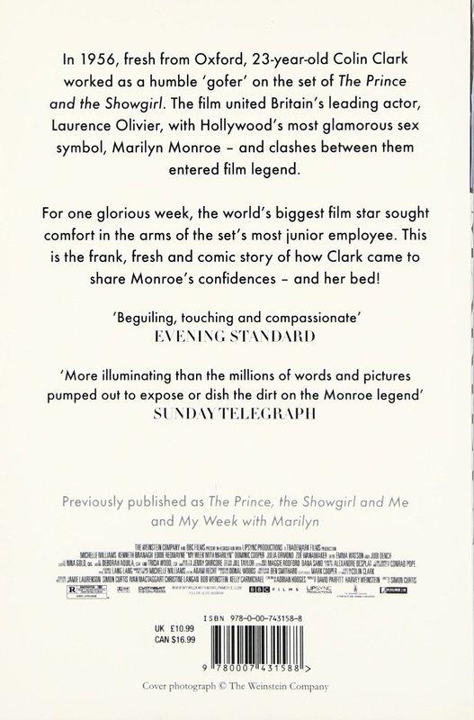 "Купить книгу ""My Week With Marilyn"""