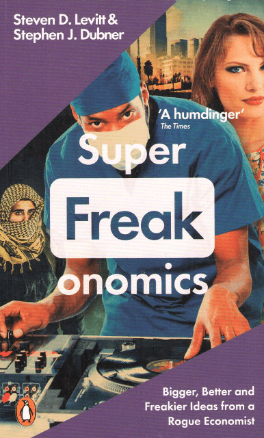 """Купить книгу """"Superfreakonomics"""""""