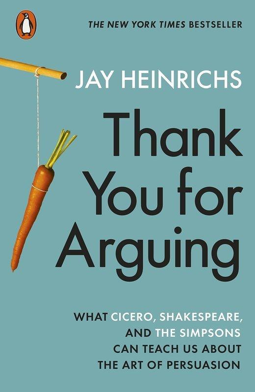 """Купить книгу """"Thank You for Arguing"""""""