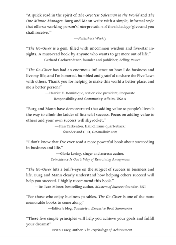 "Купить книгу ""The Go-Giver"""