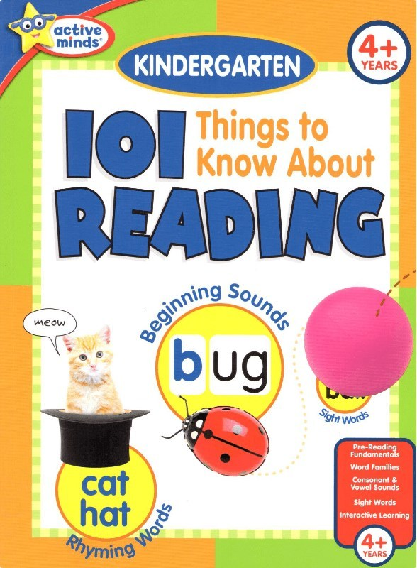 "Купить книгу ""101 Things to Know About Reading: Kindergarten"""