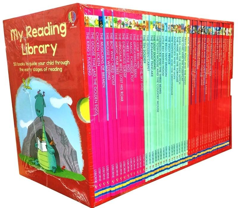"Купить книгу ""Набор книг My Reading Library"""
