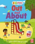 """Купить книгу """"Big Stickers for Tiny Hands: Out and About"""""""