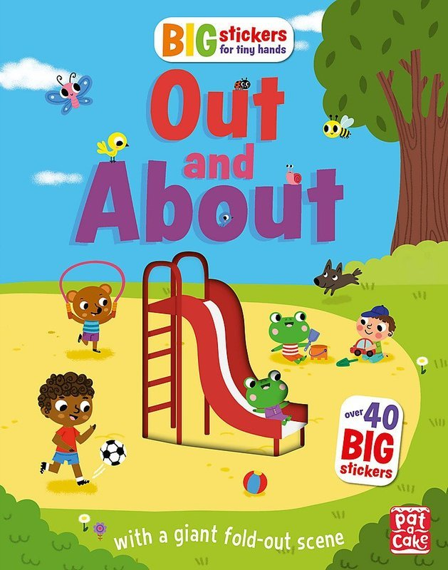 "Купить книгу ""Big Stickers for Tiny Hands: Out and About"""