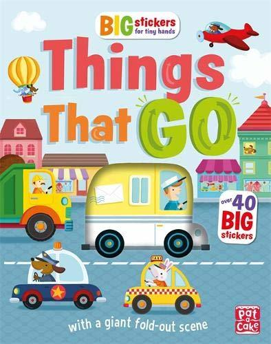 "Купить книгу ""Big Stickers for Tiny Hands: Things That Go"""
