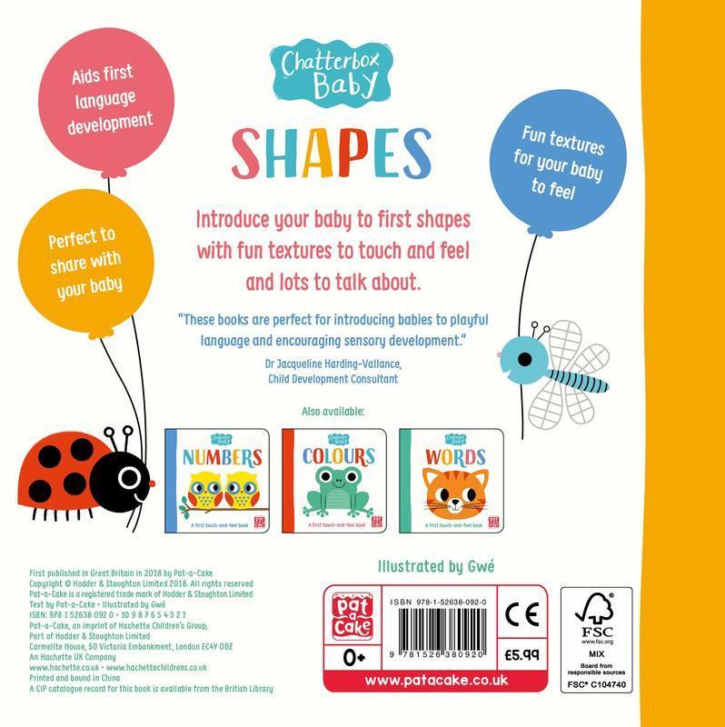"""Купить книгу """"Chatterbox Baby: Shapes"""""""