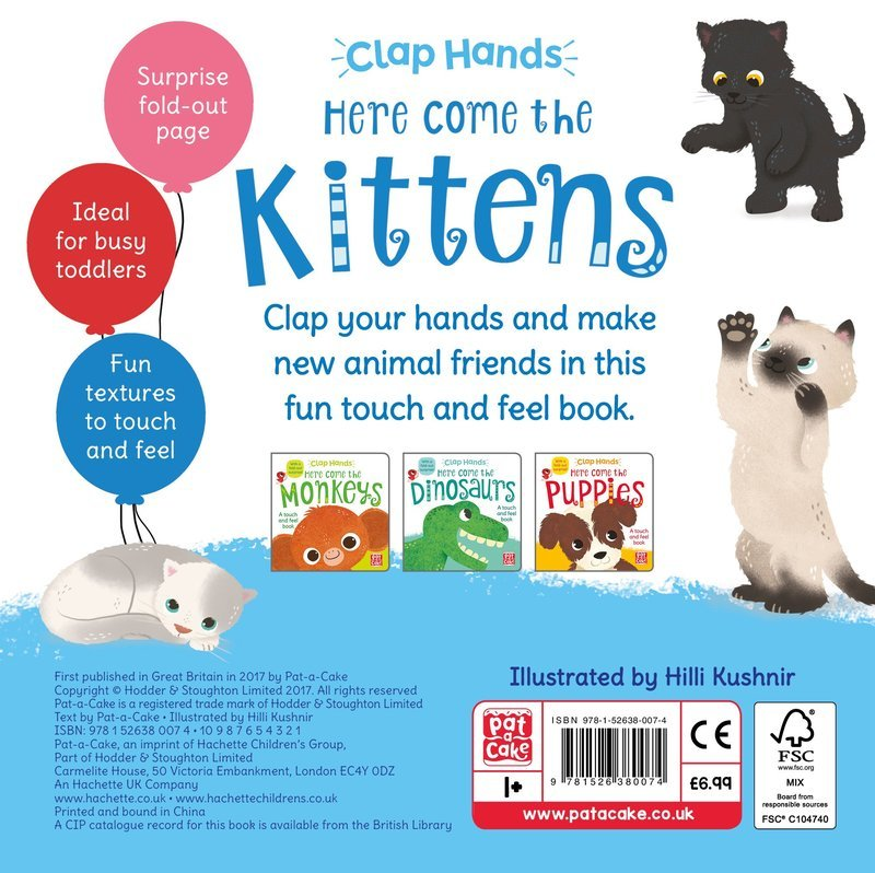 "Купить книгу ""Clap Hands: Here Come the Kittens"""