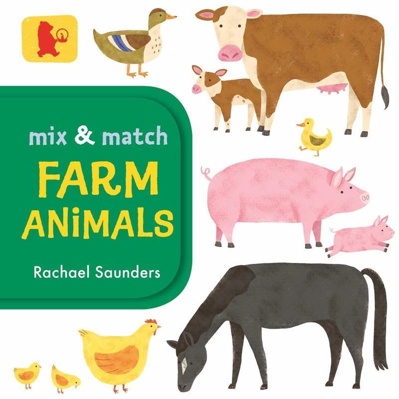 """Купить книгу """"Mix and Match: Farm Animals"""""""