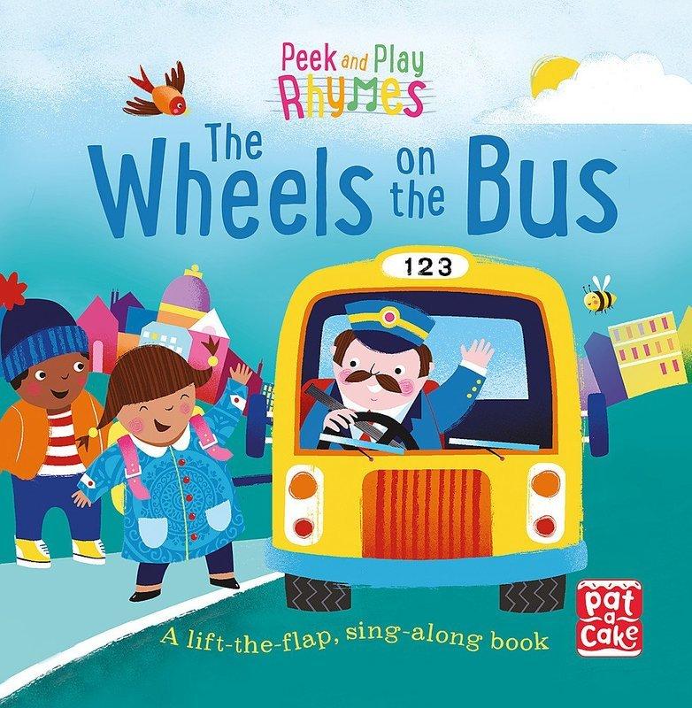 "Купить книгу ""Peek and Play Rhymes: The Wheels on the Bus"""