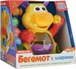 Развивающая игрушка Kiddieland Гиппопотам жонглер (049890)