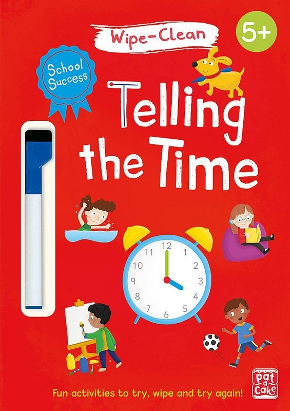 "Купить книгу ""School Success: Wipe-Clean Telling the Time"""