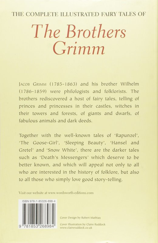 """Купить книгу """"The Complete Illustrated Fairy Tales of Brothers Grimm"""""""