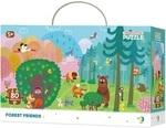 Пазл. Dodo. Forest Friends. Лесные Друзья. 80 элементов (300140)
