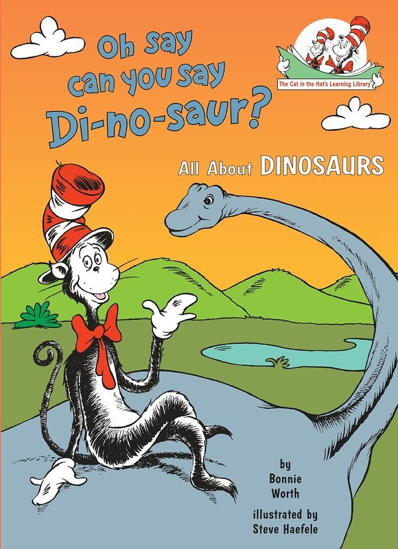 "Купить книгу ""Oh Say Can You Say Di-no-saur?"""