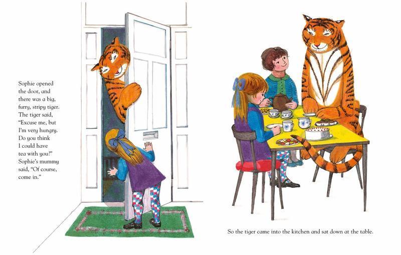 "Купить книгу ""The Tiger Who Came to Tea"""