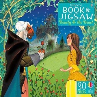 """Купить книгу """"Beauty and the Beast. Book and Jigsaw"""""""