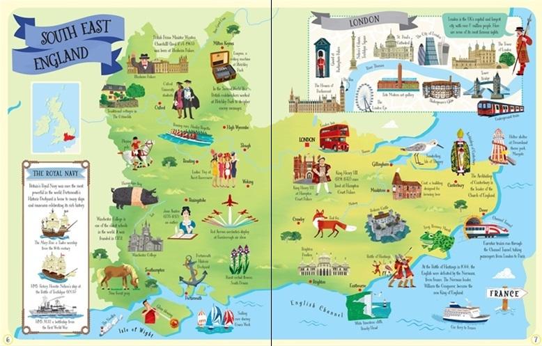 """Купить книгу """"Great Britain and Ireland Atlas and Jigsaw"""""""
