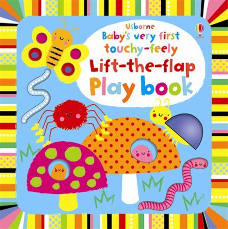 """Купить книгу """"Baby's Very First Touchy-Feely Lift-the-Flap Playbook"""""""