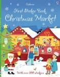 First Sticker Book. Christmas Market