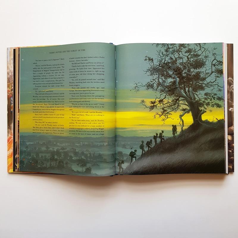"""Купить книгу """"Гаррі Поттер і Келих Вогню. Велике ілюстроване видання"""""""