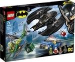 Конструктор LEGO Бэткрыло Бэтмена и ограбление Загадочника (76120)