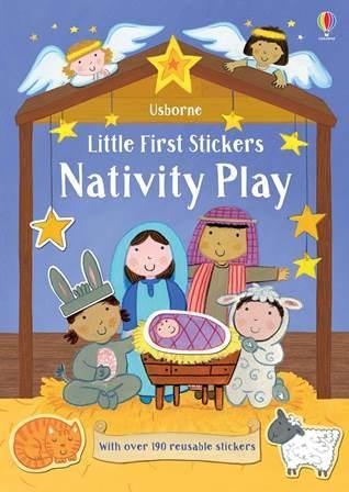"Купить книгу ""Little First Stickers. Nativity Play"""
