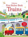First Sticker Book. Trains