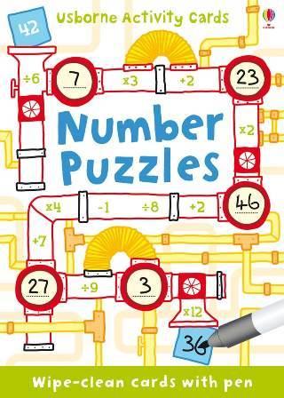 "Купить книгу ""Number Puzzles"""