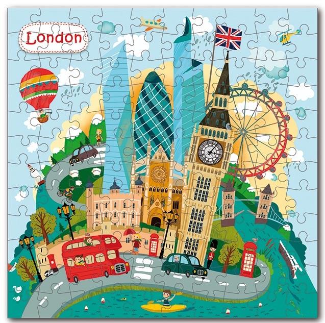 """Купить """"Пазл. Dodo. Лондон / City London. 64 елементів (300166)"""""""