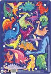 Пазл. Dodo. Динозаври. 53 елементи (R300181)
