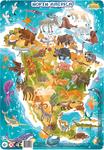 Пазл. Dodo. Північна Америка. 53 елементи (R300177) - купити онлайн