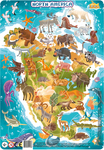 Пазл. Dodo. Північна Америка. 53 елементи (R300177)