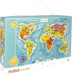 Пазл. Dodo. World map / Мапа Світу. 100 элементов (300123)
