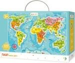 Пазл. Dodo. Мапа Світу. 100 елементів (300110) - купить онлайн