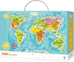 Пазл. Dodo. Мапа Світу. 100 елементів (300110)