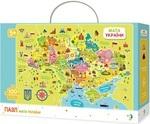 Пазл. Dodo. Мапа України. 100 елементів (300109)