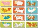 """Купить """"Пазл. Dodo. Улюблені тваринки. 12 елементи (300115)"""""""