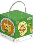 Пазл. Dodo. Дикі тварини. 18 елементів (300153) - купить онлайн