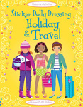 Sticker Dolly Dressing. Holiday and Travel