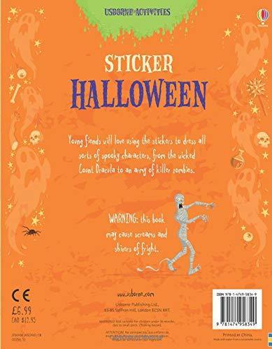 """Купить книгу """"Sticker Halloween"""""""