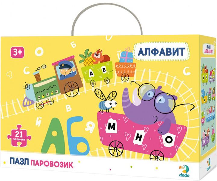 """Купить """"Пазл. Dodo. Алфавит. 21 элемент (R300148)"""""""