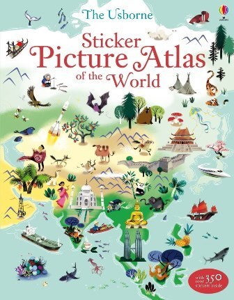 "Купить книгу ""Sticker Picture Atlas of the World"""