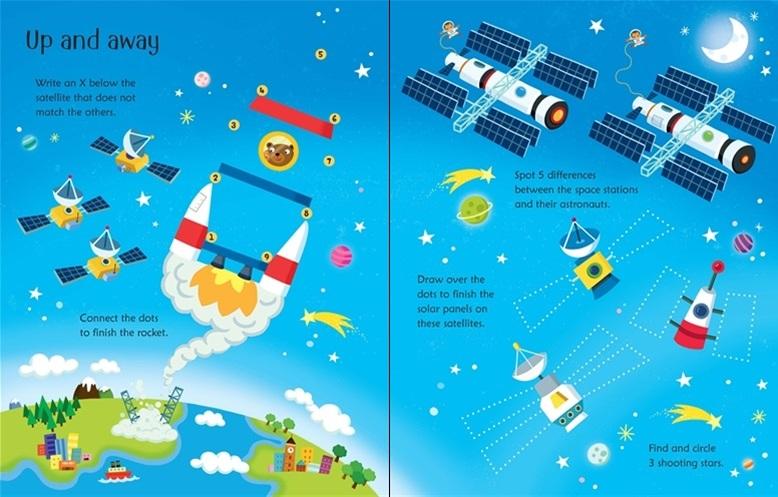 Wipe-Clean Space Activities - купить и читать книгу