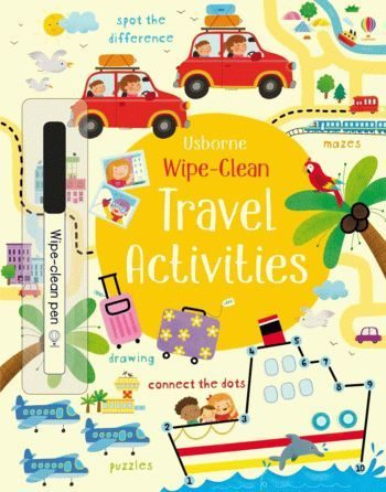 "Купить книгу ""Wipe-Clean Travel Activities"""